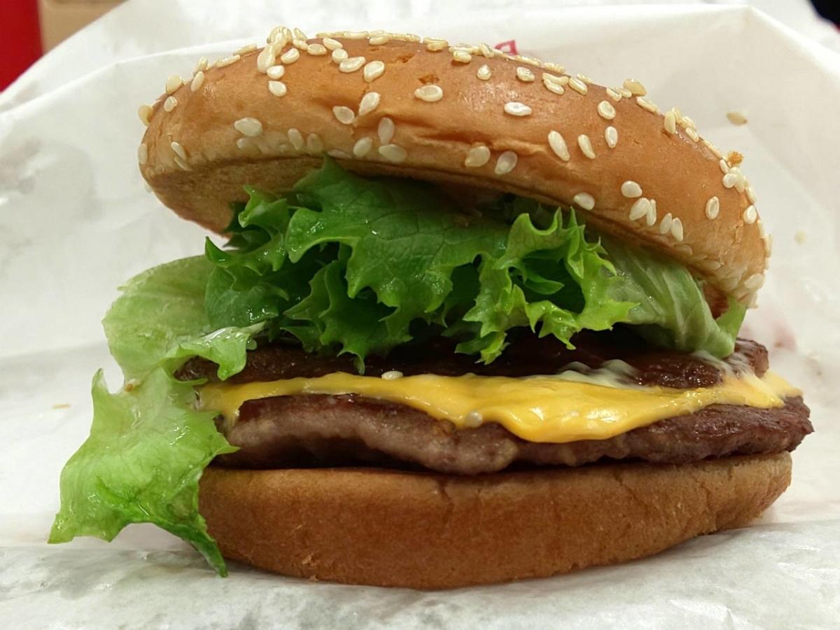ドムドムハンバーガー ビッグドムチーズ 美味しい?感想 口コミ レビュー