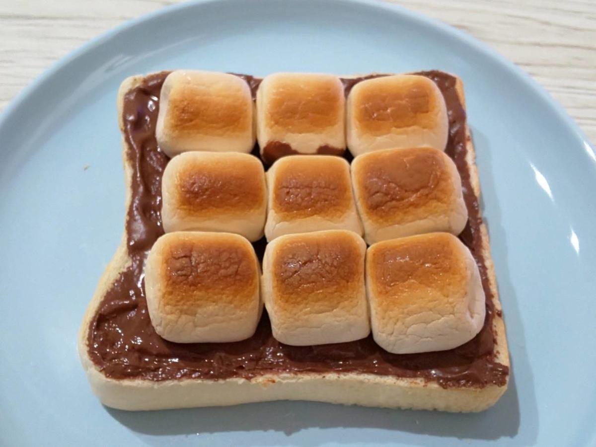 スモアトースト 作り方 トースター何分? 家事ヤロウ 簡単レシピ