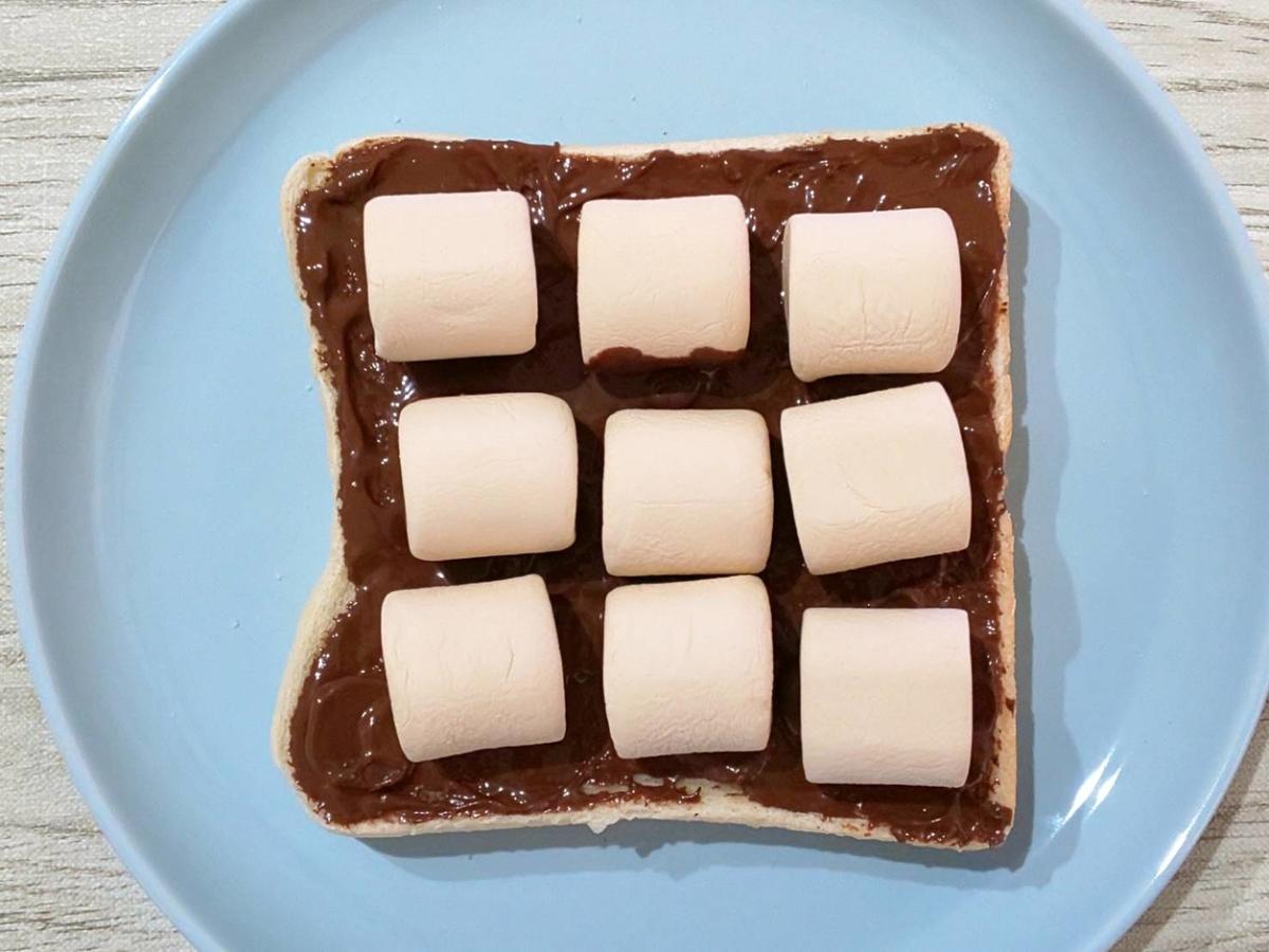 スモアトースト 作り方 マシュマロ9個 家事ヤロウ 簡単レシピ