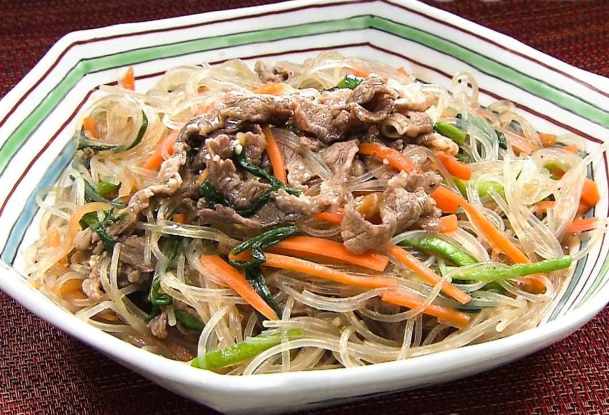 家事ヤロウ レシピ簡単レンジ料理 チャプチェ 作り方 材料