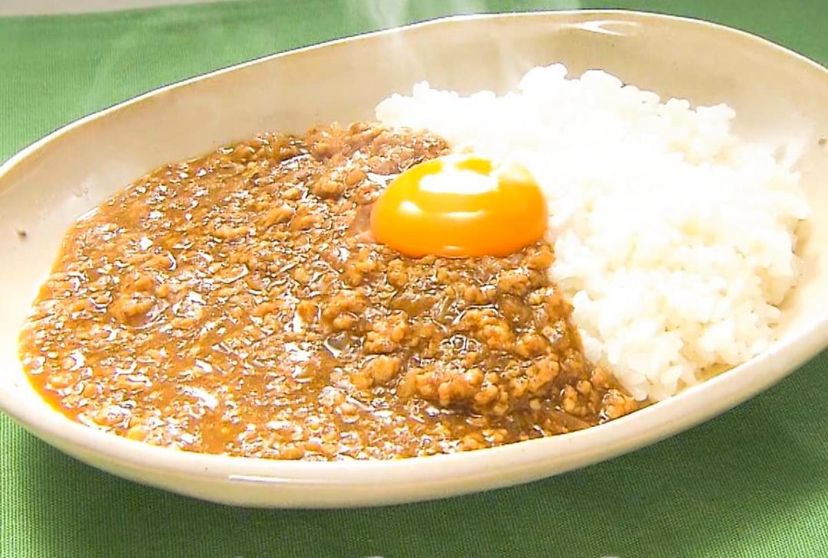 家事ヤロウ レシピ簡単レンジ料理 レンチン キーマカレー 作り方 材料