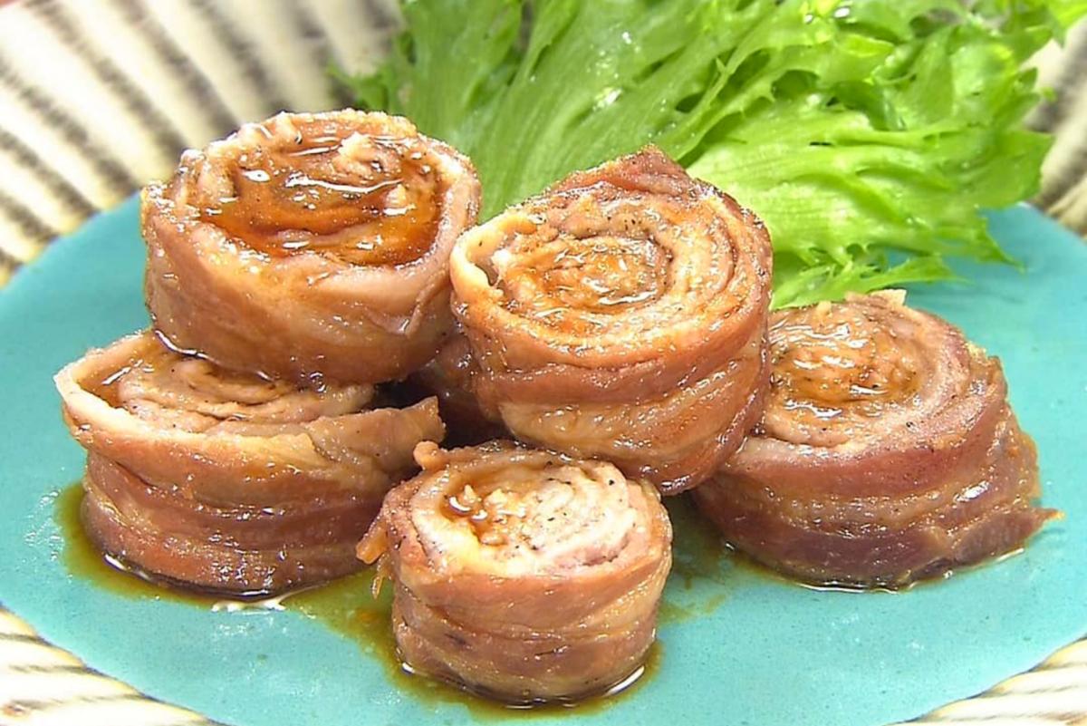 家事ヤロウ レシピ 簡単レンジ料理 巻き巻きチャーシュー 作り方 材料
