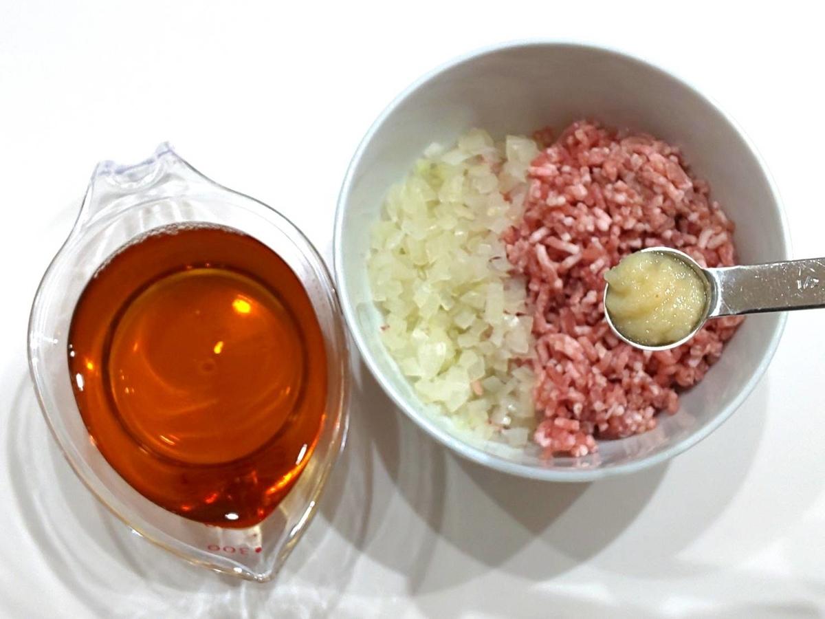 家事ヤロウ レシピ 人気の「レンチン キーマカレー」材料 作り方 ほうじ茶