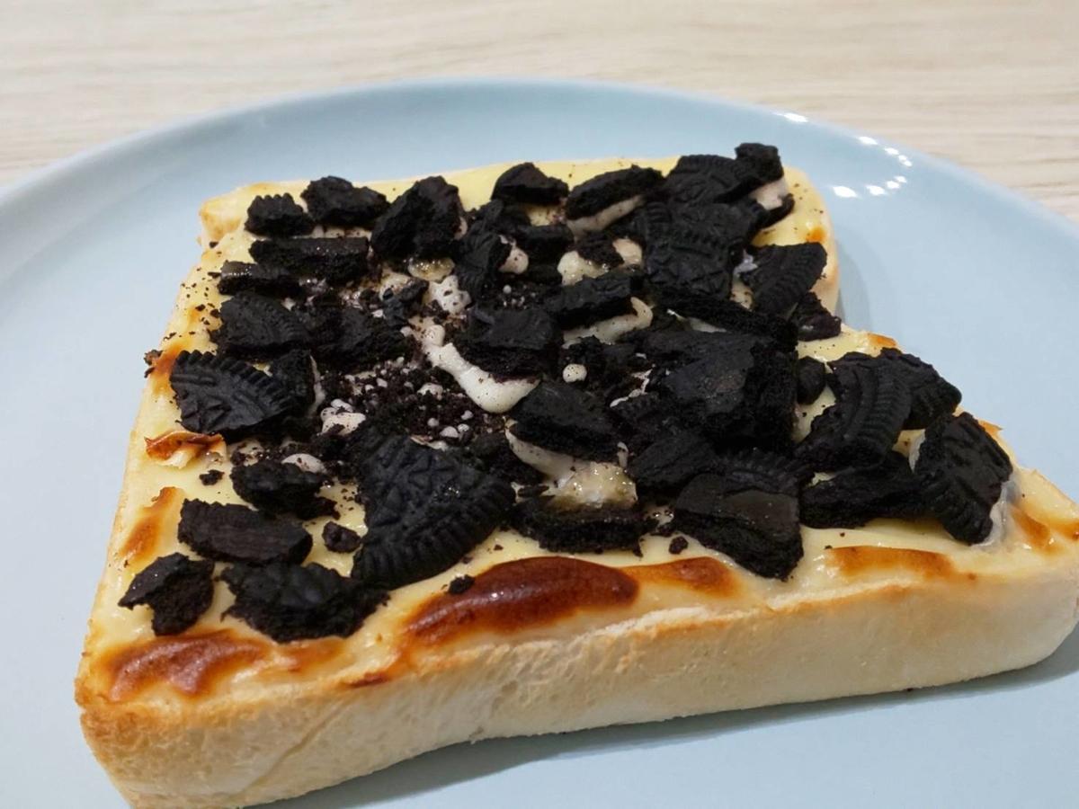家事ヤロウ 簡単レシピ オレオチーズケーキトースト スイーツ パン祭り