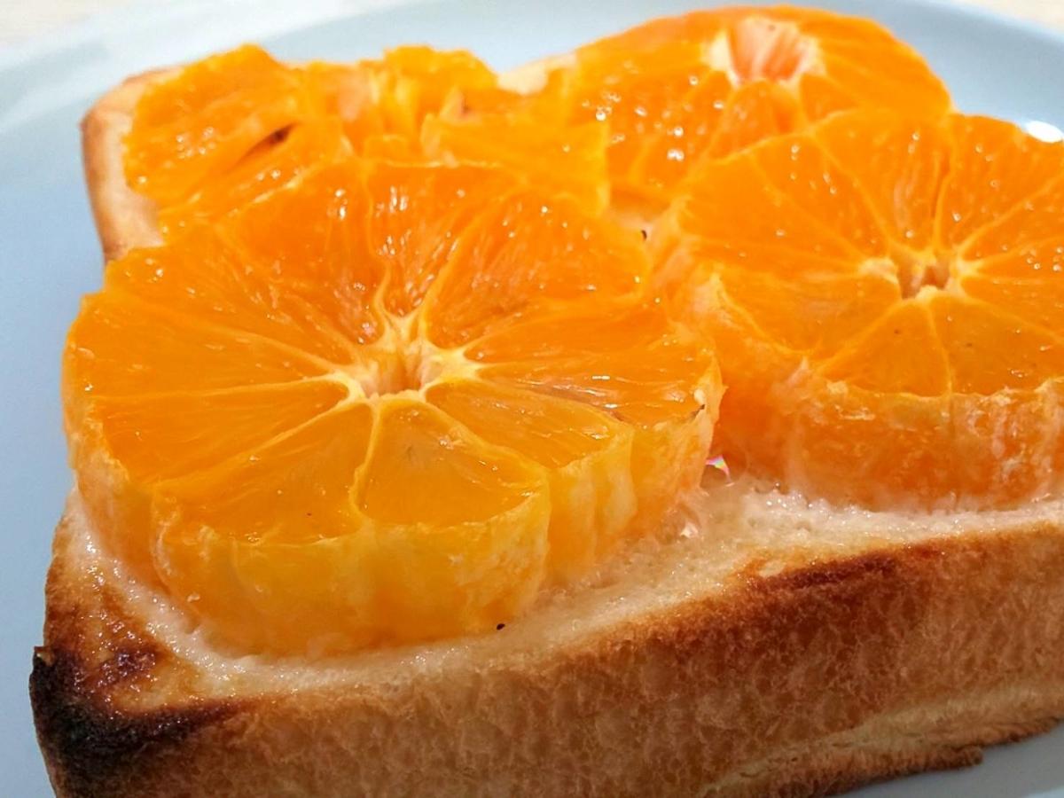 焼みかんトースト 家事ヤロウ 簡単レシピ パン祭り