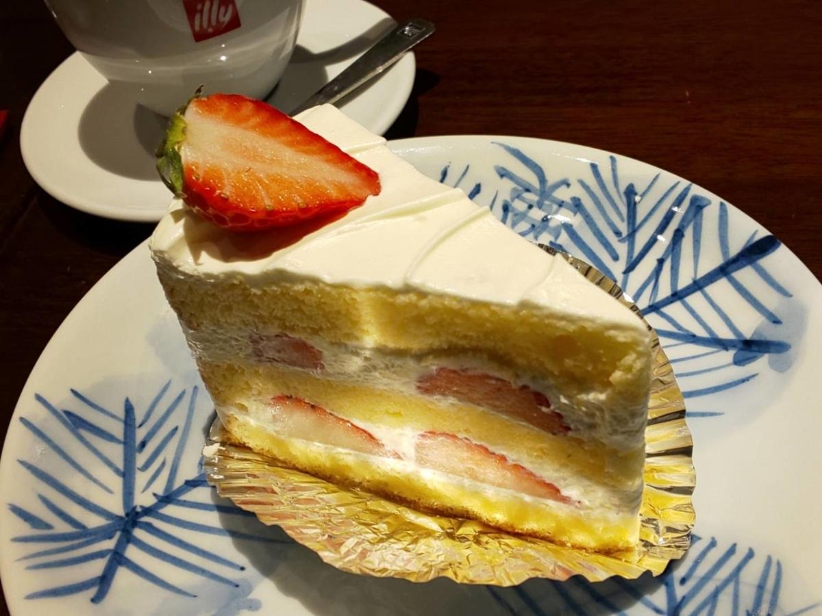 パスタフレスカ英(はな)デザートセット 苺のショートケーキ 感想 口コミ レビュー