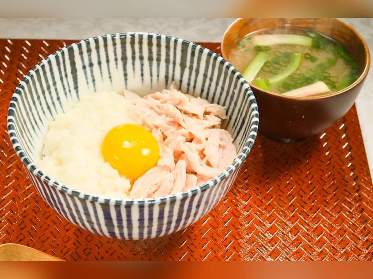 家事ヤロウ 簡単 卵料理レシピ 温玉まぜご飯 材料 作り方