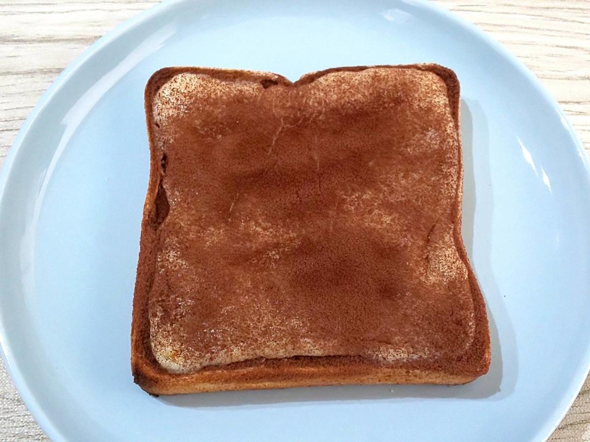 リッチチーズケーキ アレンジ ティラミトースト 森永ココア 材料 作り方 簡単レシピ