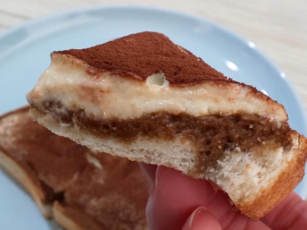 ティラミトースト リッチチーズケーキ アレンジ
