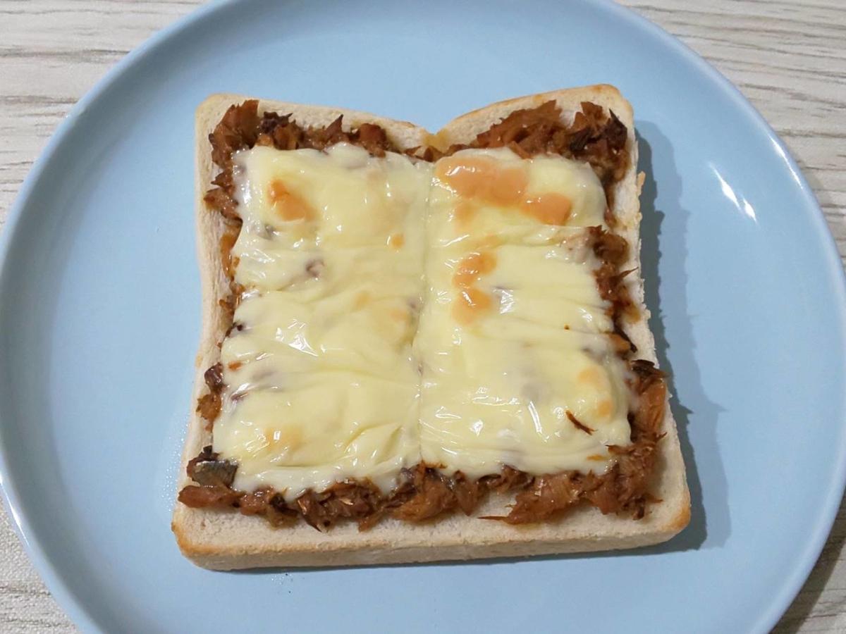 サバの味噌チーズトースト 作り方 さば缶アレンジ 簡単レシピ