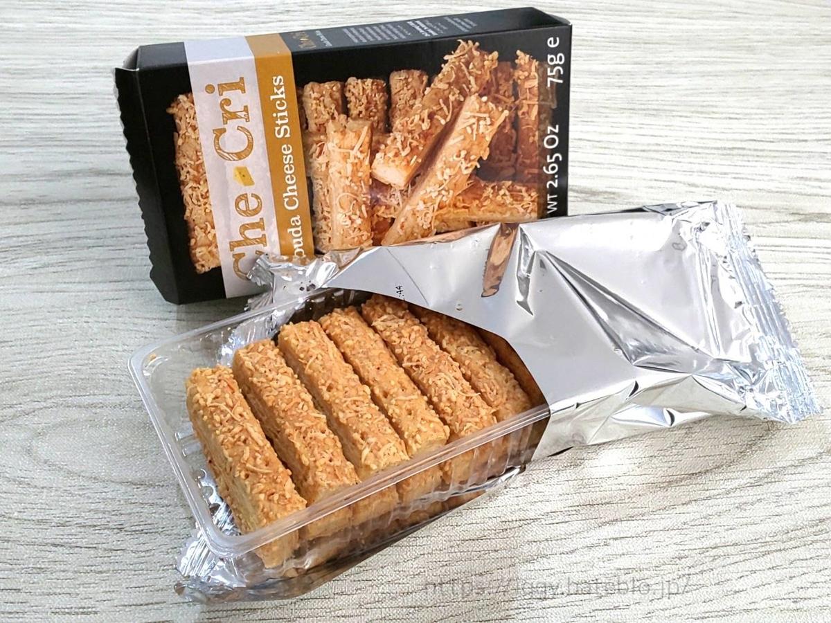 業務スーパー 海外輸入 おすすめお菓子 ゴーダチーズスティック 感想 口コミ レビュー
