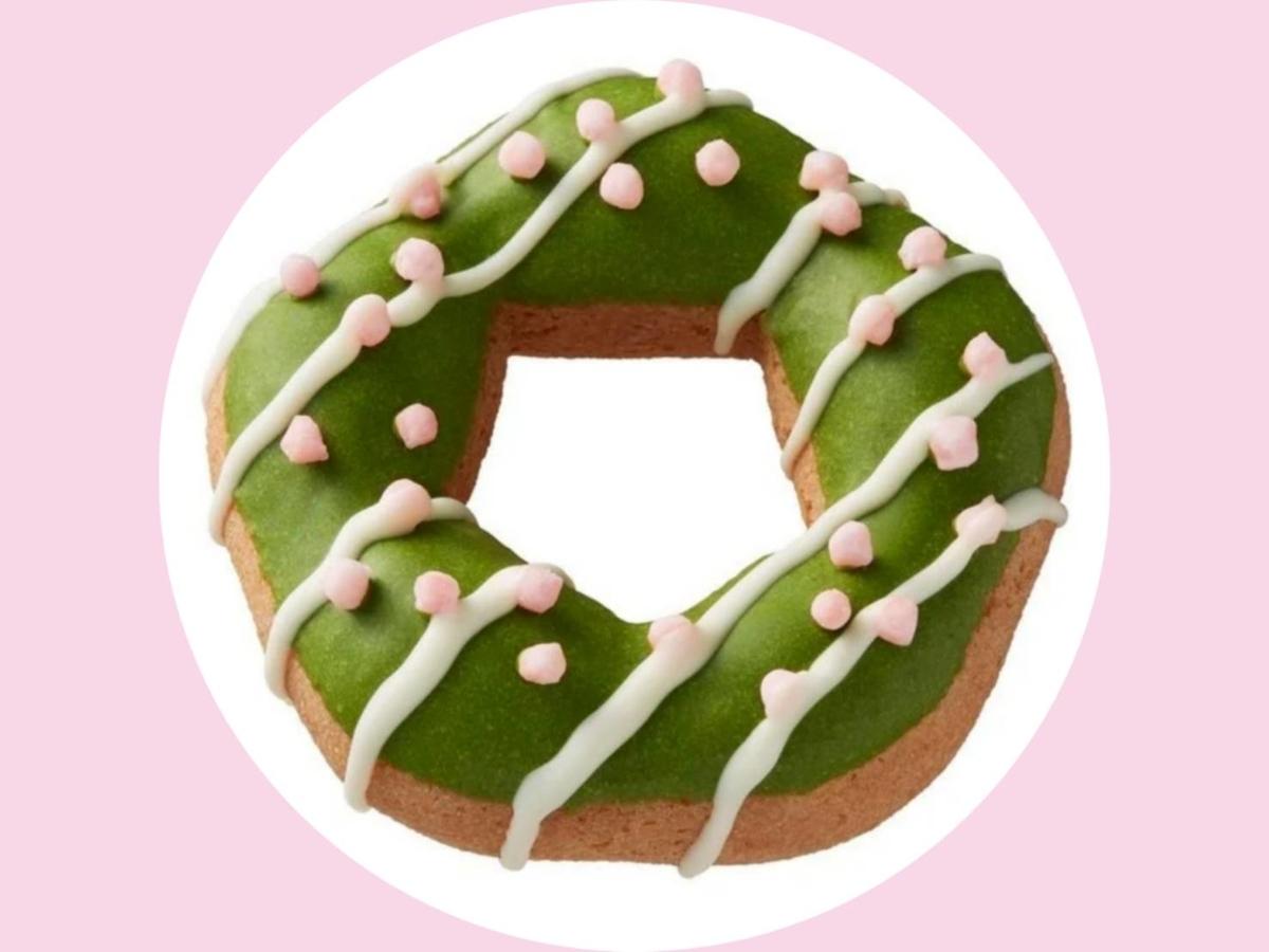 ミスド×祇園辻利 桜もちっとドーナツ 宇治抹茶チョコ 値段 原材料 カロリー・栄養成分