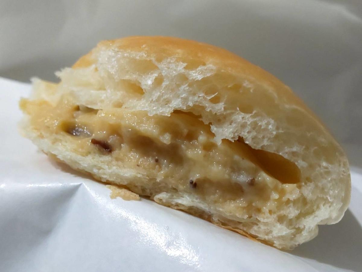 治七のクリームパン ラムレーズンクリーム 感想 口コミ レビュー