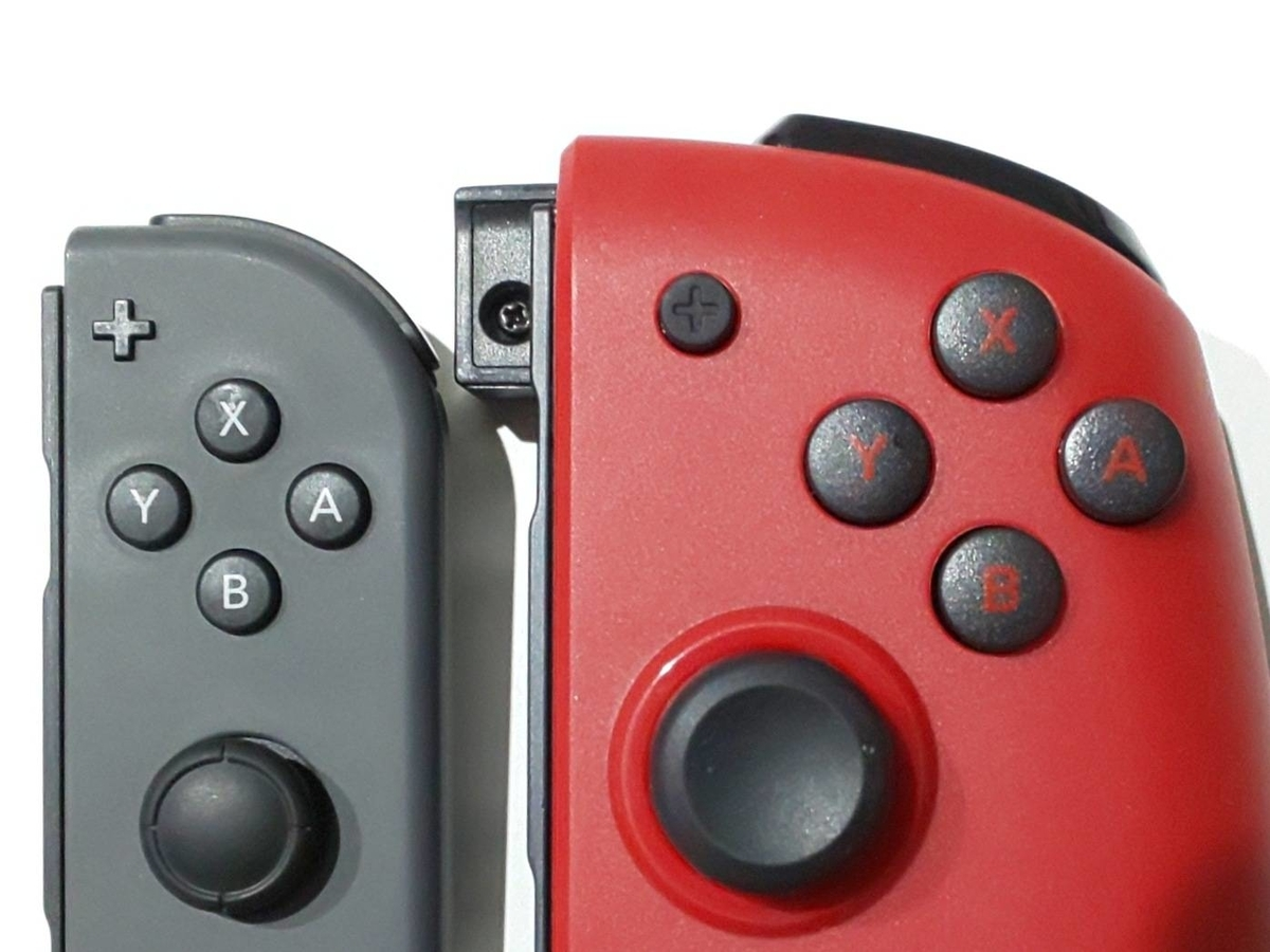 HORI グリップコントローラー ボタンの大きさ 比較 MHR