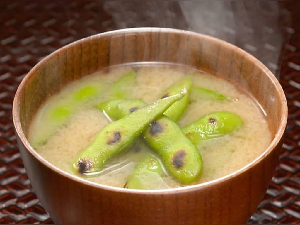 家事ヤロウ 簡単朝食レシピ 人気 ランキング  冷凍枝豆みそ汁