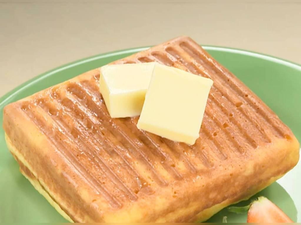 家事ヤロウ 簡単朝食レシピ 人気 ランキング  ホットサンドケーキ