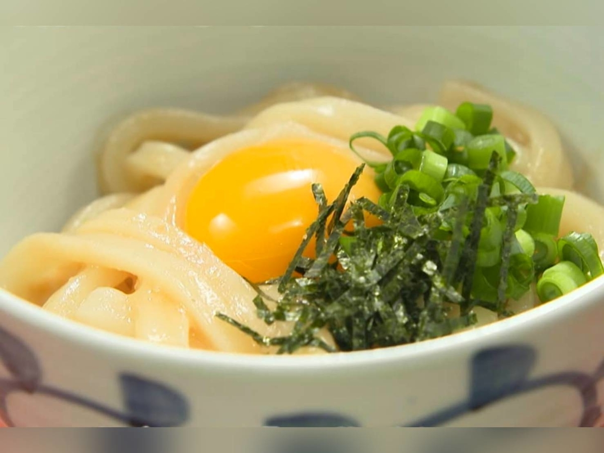 家事ヤロウ 簡単冷凍うどんレシピ だし味噌釜玉うどん 材料 作り方