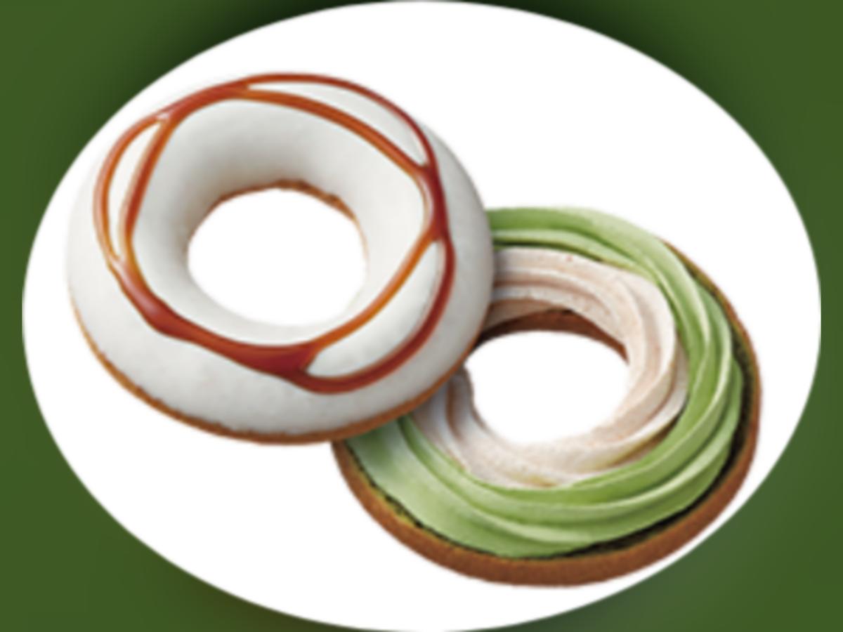 ミスド×辻利 ふわもち宇治抹茶 宇治抹茶&きなこホイップ 値段 原材料 カロリー・栄養成分 つや抹茶
