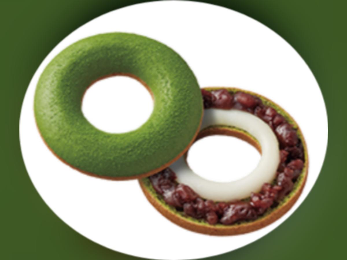 ミスド×辻利 ふわもち宇治抹茶 あずきもち 値段 原材料 カロリー・栄養成分 つや抹茶