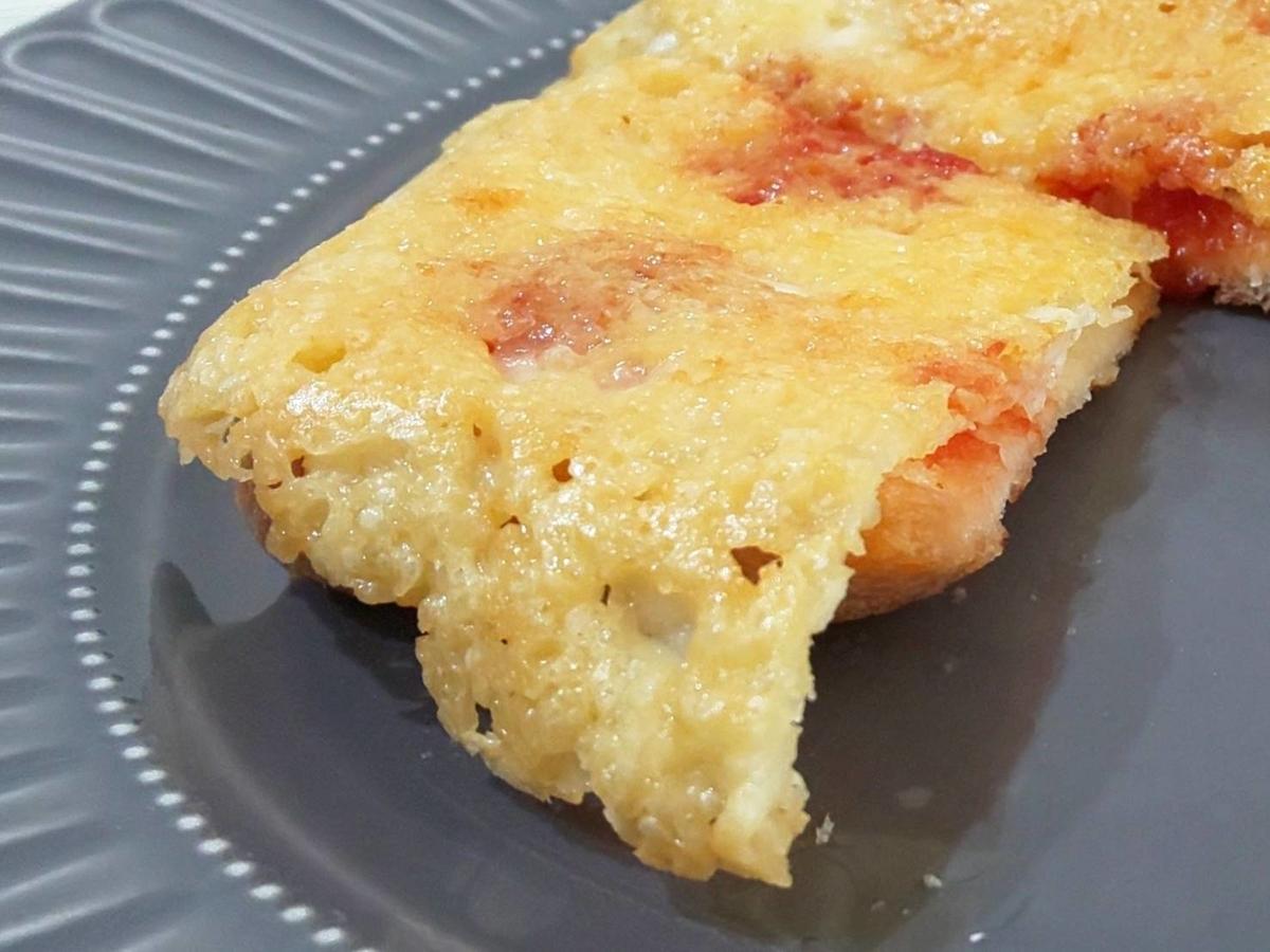 家事ヤロウ パン レシピ 人気 悪魔のカリカリピザトースト