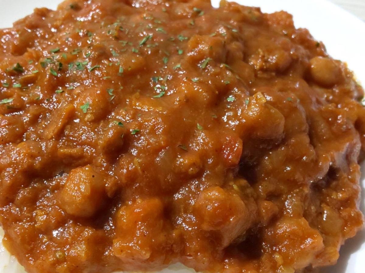 カルディ 大豆ミートとひよこ豆のキーマカレー 具材 感想 口コミ レビュー