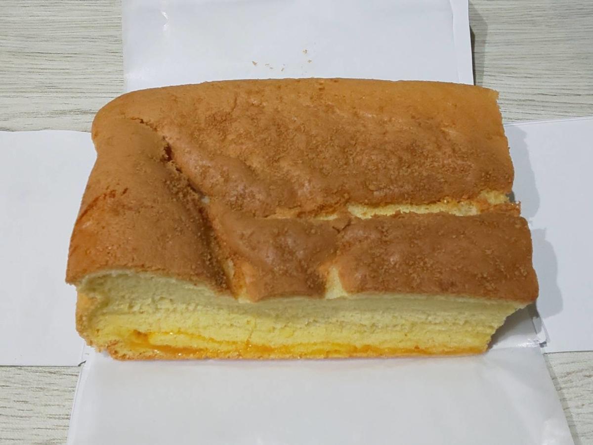 台楽蛋糕 タイラクタンガオ 台湾カステラ 大きさ 感想 口コミ レビュー