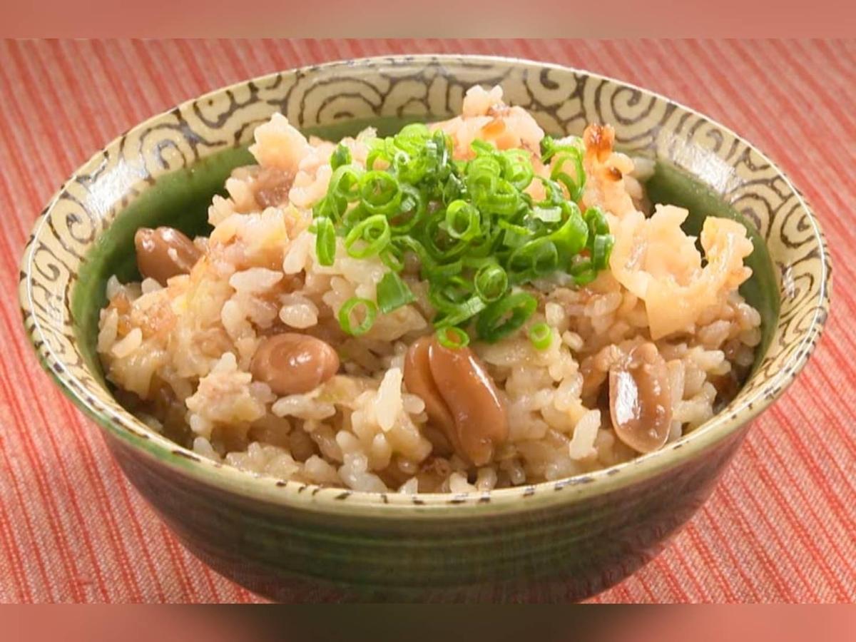 家事ヤロウ 簡単レシピ 冷凍餃子炊き込みご飯 材料 作り方