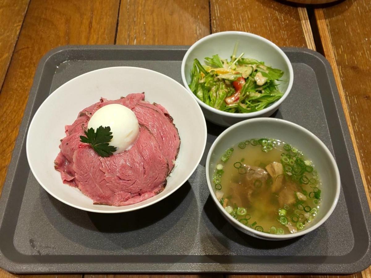 ノダニク 和牛イチボロースト丼 おすすめ 感想 口コミ レビュー