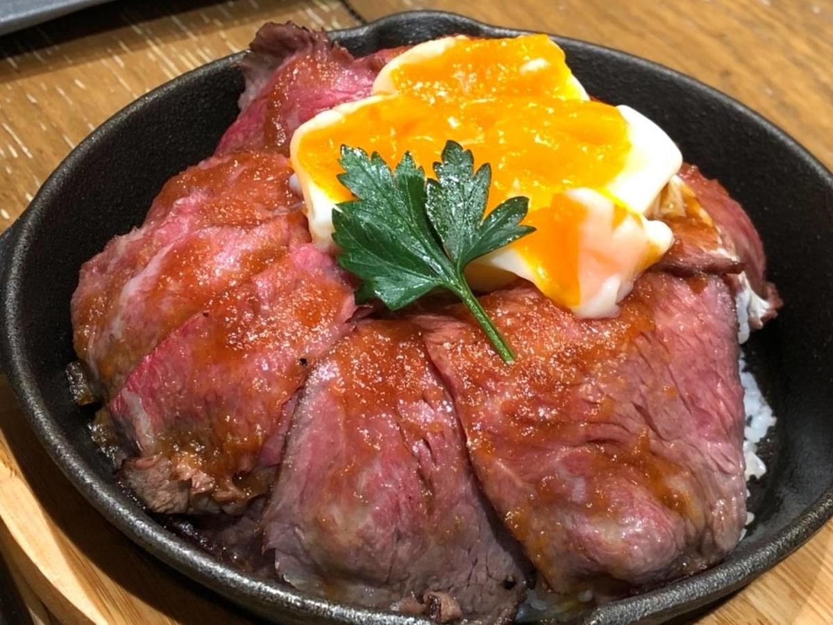 ノダニク 和牛赤身ローストビーフ丼 おすすめ 感想 口コミ レビュー