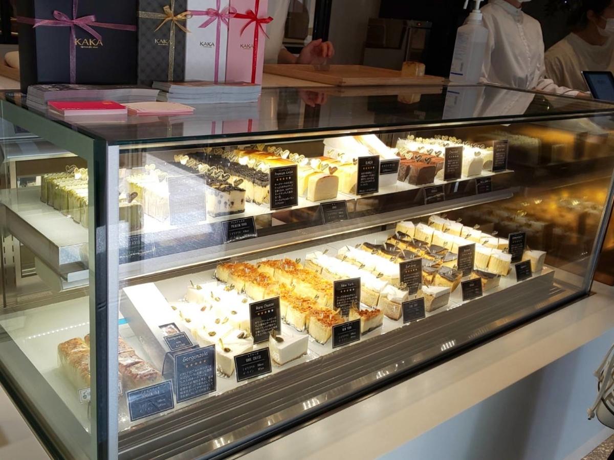 KAKAカカチーズケーキ 種類 価格 口コミ レビュー