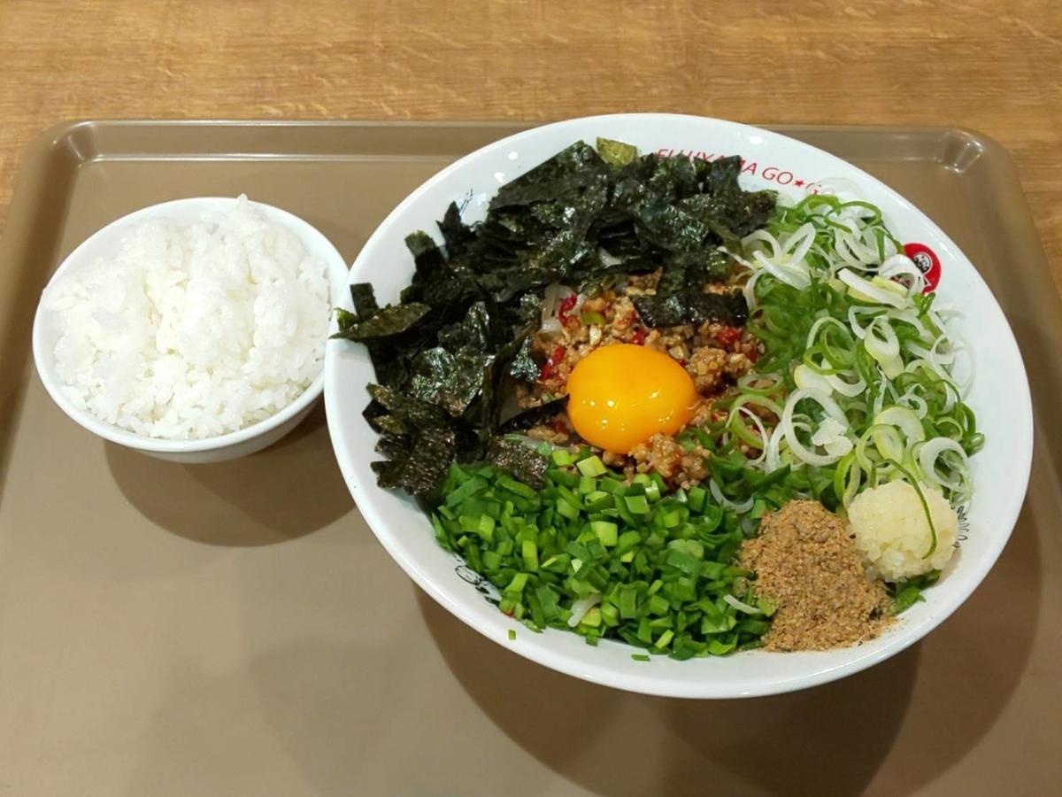 フジヤマ55 台湾まぜそば ランチ 麺大盛り 感想 口コミ レビュー