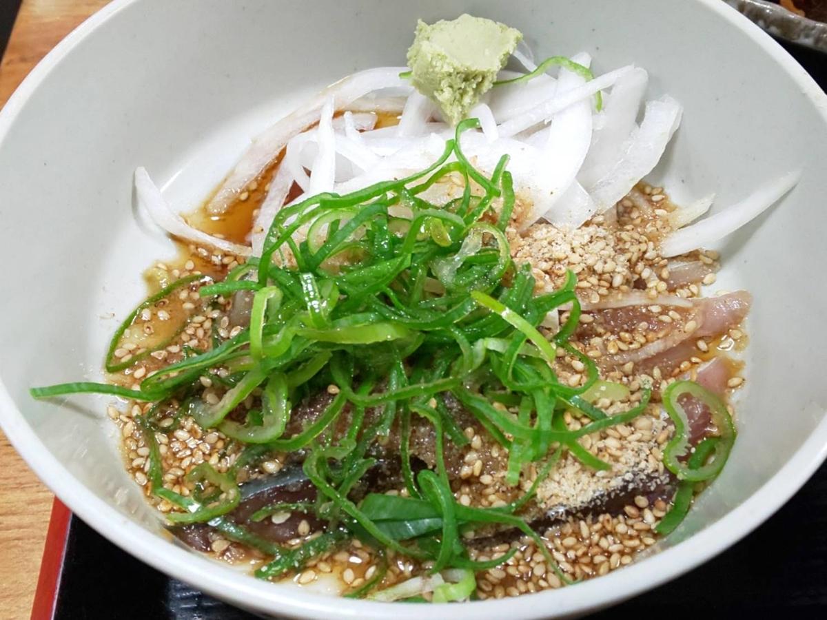 博多ごまさば屋 人気 ごまさば丼定食 量 薬味 感想 口コミ レビュー 評価