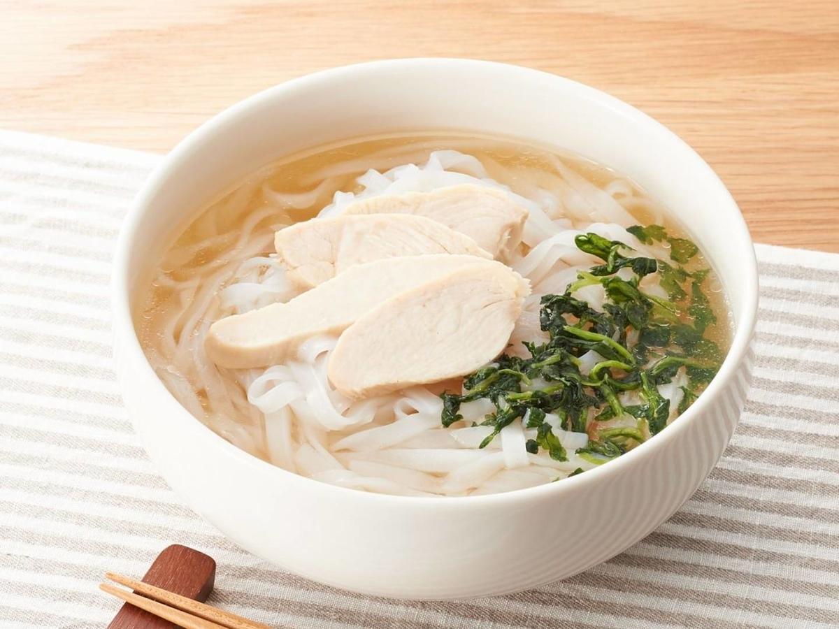 無印 人気商品 チキンのフォー 値段 おすすめ冷凍食品