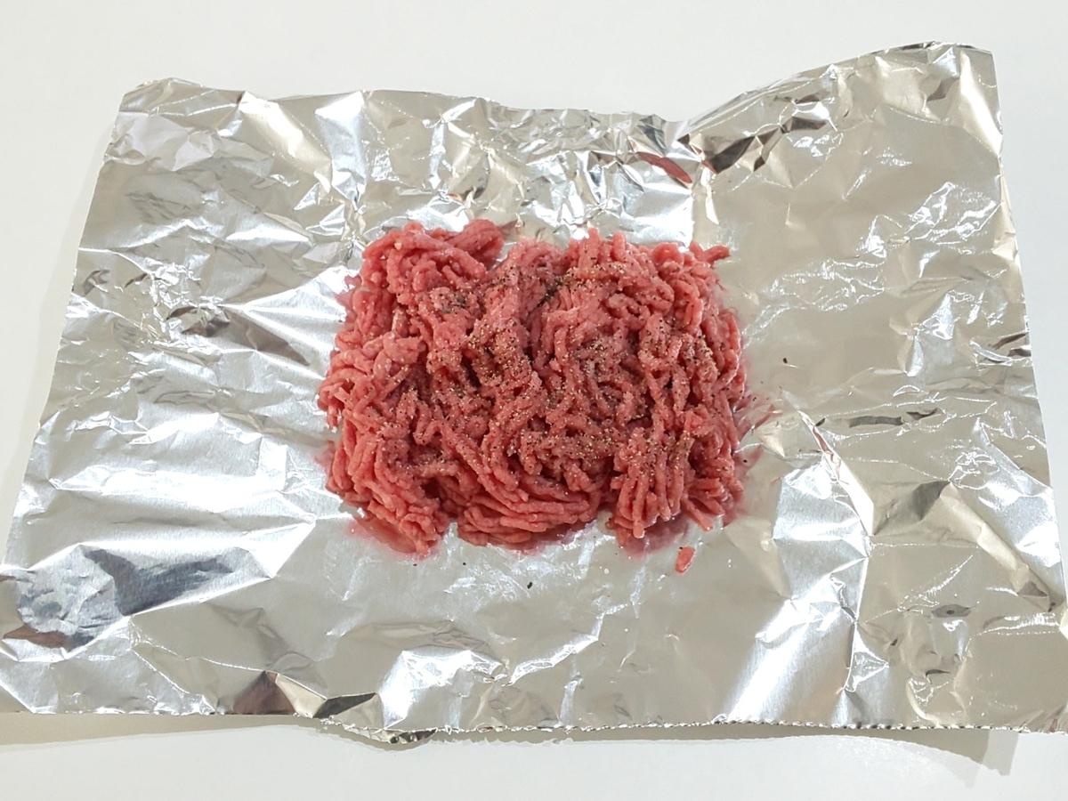 トースター ひき肉の丸焼き(やけくそハンバーグ)作り方 家事ヤロウ レシピ