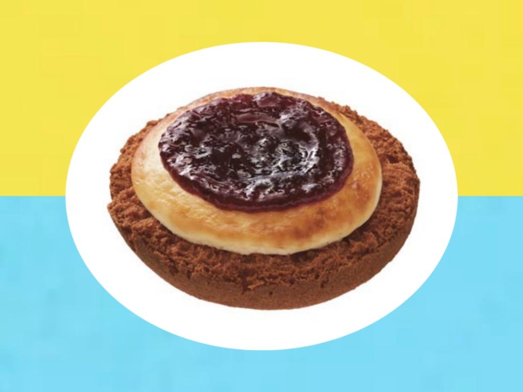 ミスド ベイクチーズタルトブルーベリー 値段 カロリー 栄養成分 口コミ