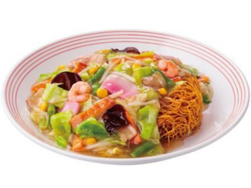 リンガーハット おすすめ 人気メニューランキング2位 長崎皿うどん 値段 口コミ 評価