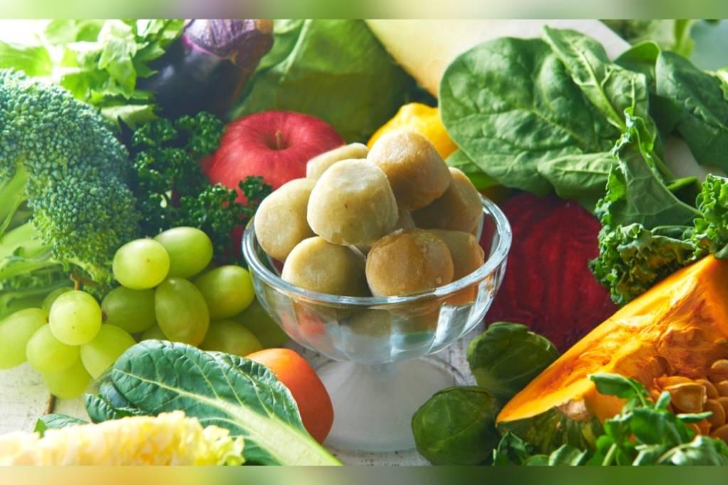 シャトレーゼ スムージーアイスボール野菜と果実ミックス 野菜 果物 種類 口コミ レビュー