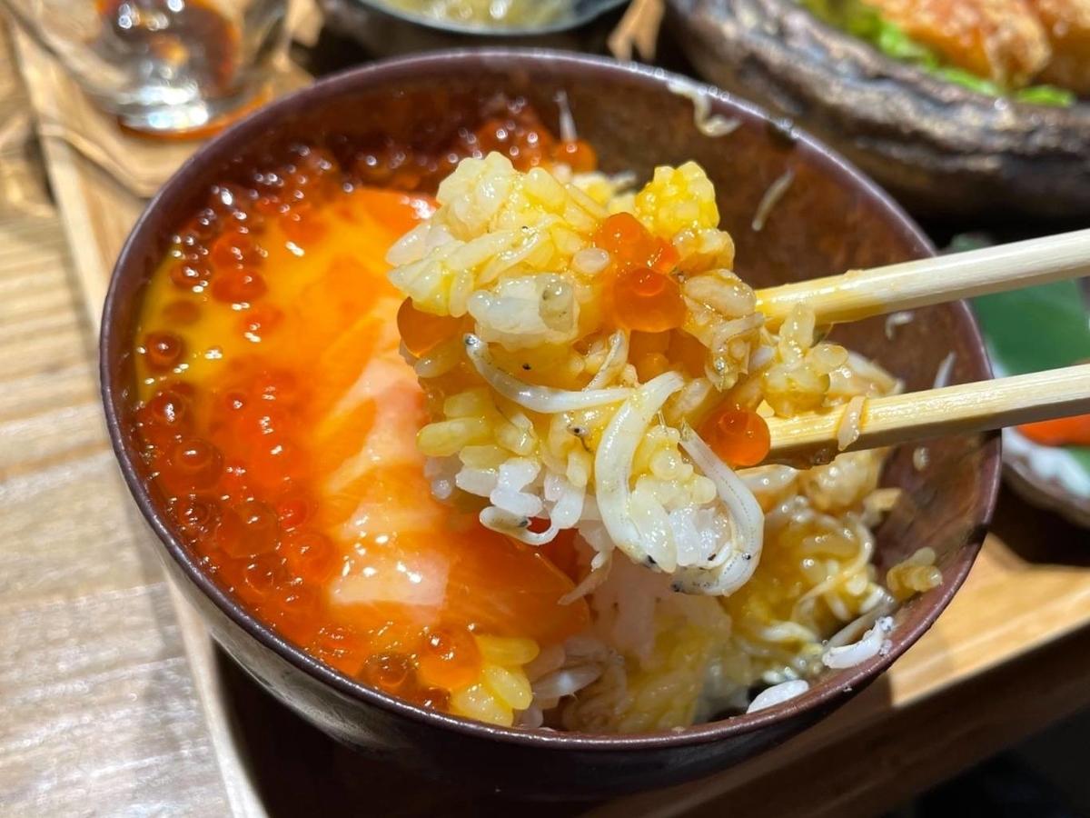 おによめ定食 海鮮丼 感想 口コミ 天神 大名 人気ランチ