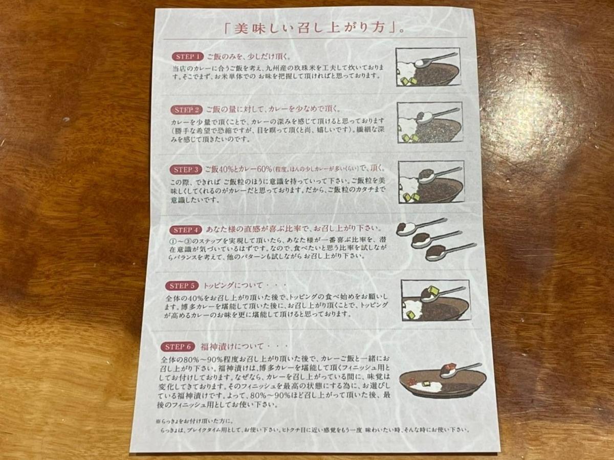 博多カレー研究所 おすすめメニュー 美味しい食べ方 スプーン平べったい 福岡空港 口コミ