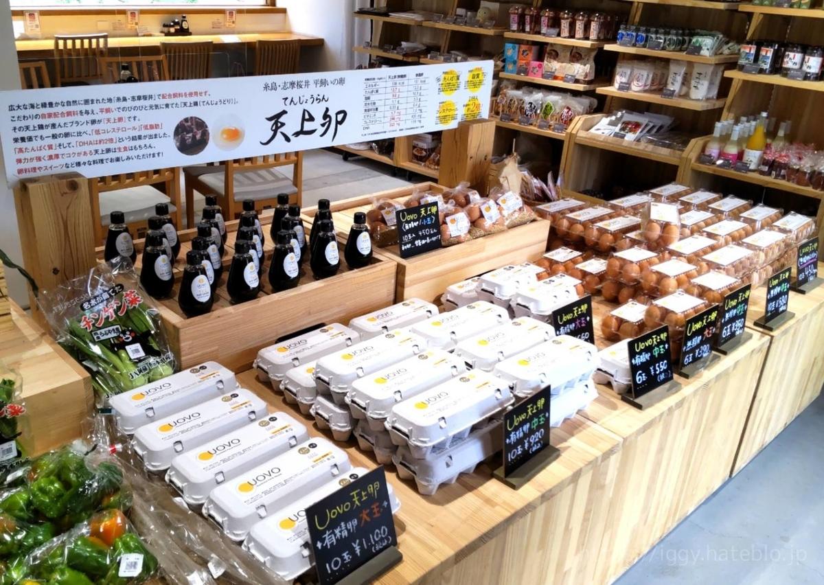 糸島ファームハウスUOVO意味 天上卵とは?  値段