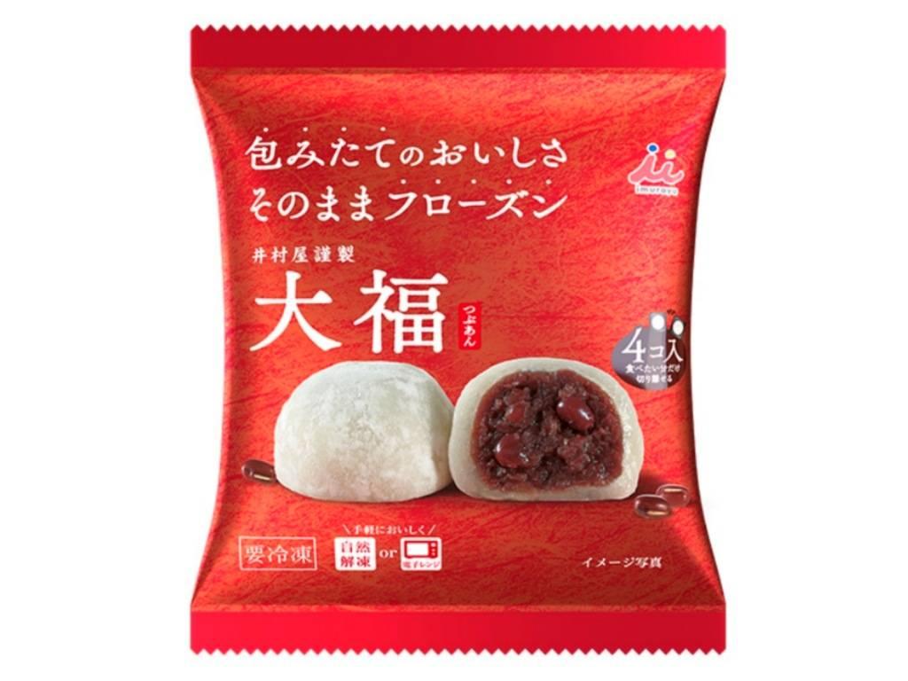 井村屋 冷凍 大福 値段 原材料 カロリー 栄養成分 口コミ