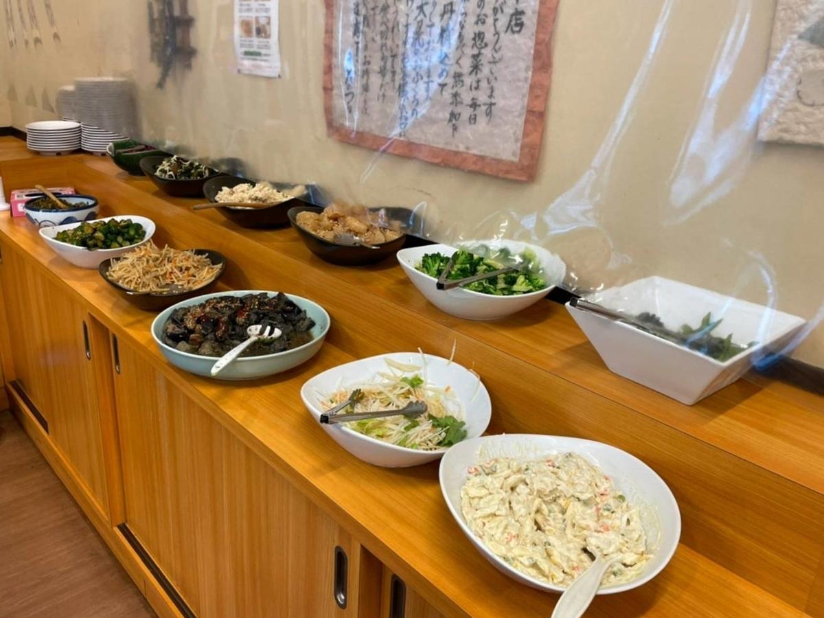 きんのつる お惣菜 食べ放題 ごはん 味噌汁 おかわり 口コミ レビュー 評価