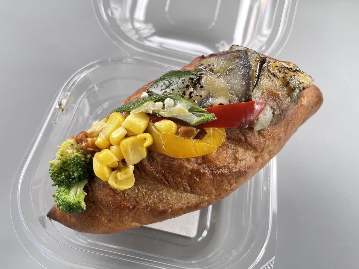 ブーランジュリー ベルエキプ 焼き野菜カレーパン 値段 口コミ 感想 レビュー 評価