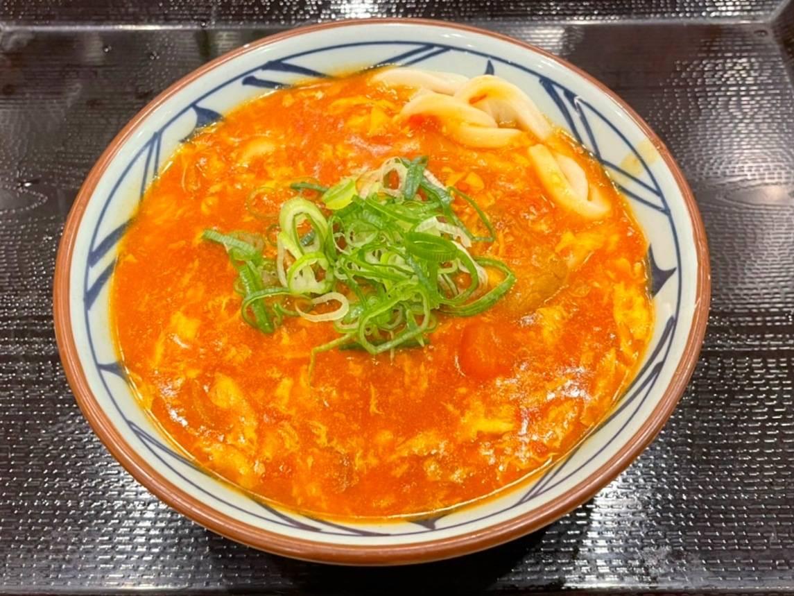 丸亀製麺 トマたまカレーうどん 具 トッピング 口コミ 感想 レビュー 評価