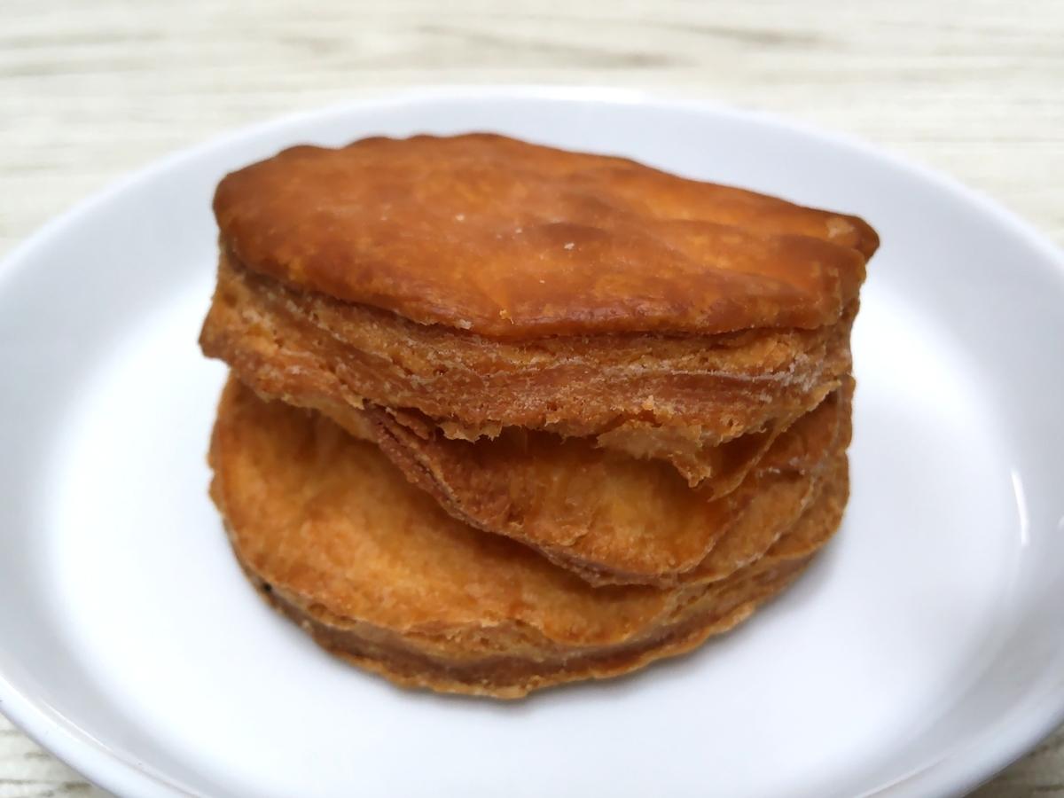 ケンタッキー 発酵バター入りビスケット サイズ 大きさ 小さい 口コミ 感想 レビュー 評価