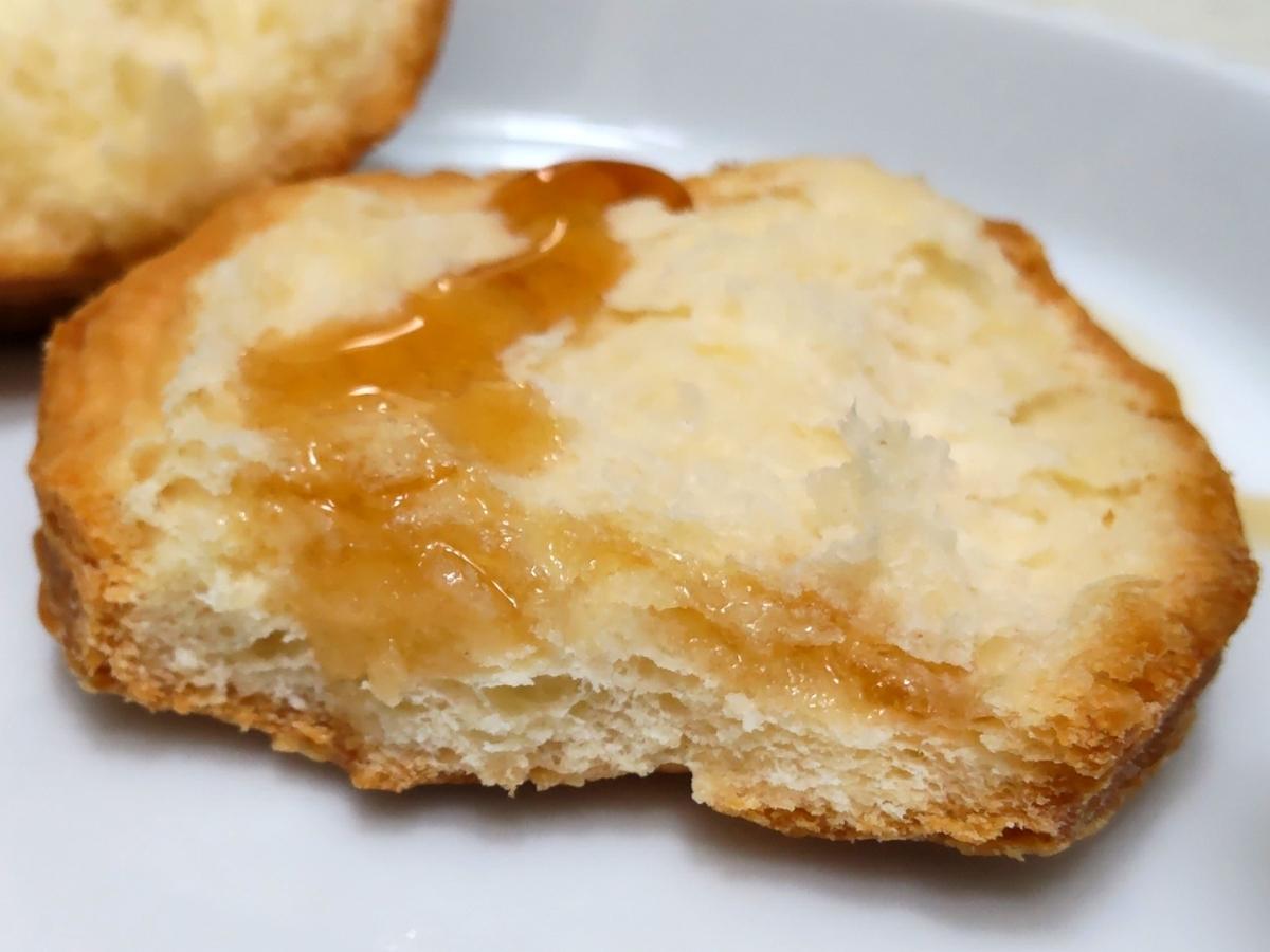 ケンタッキー 発酵バター入りビスケット まずい?美味しい メープルシロップ 口コミ 感想 レビュー 評判