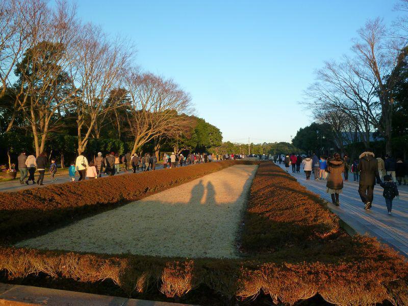 吉野公園 初日の出