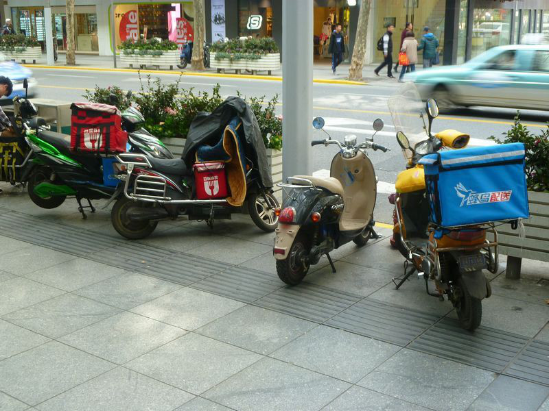 上海の自転車