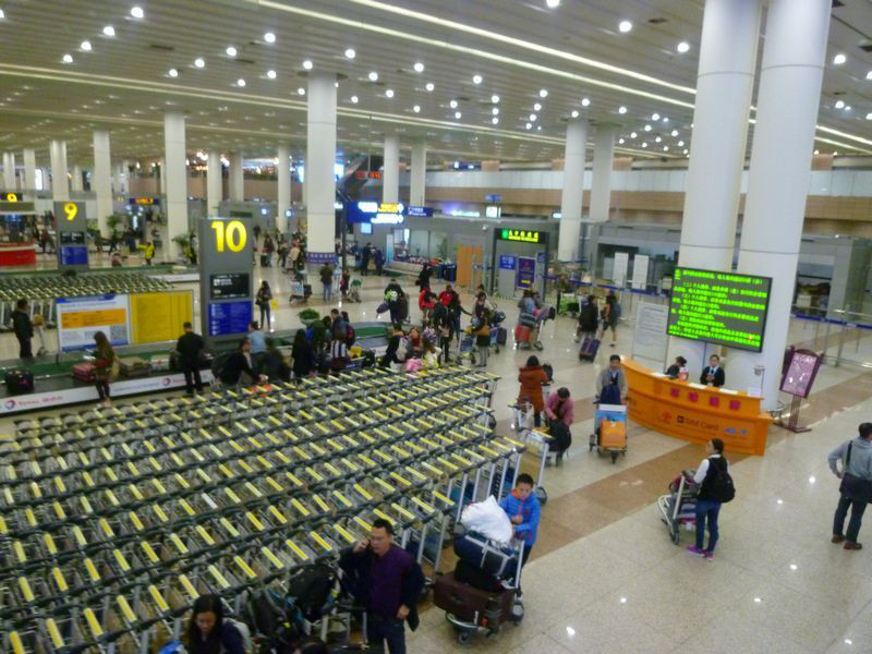 上海浦東国際空港から