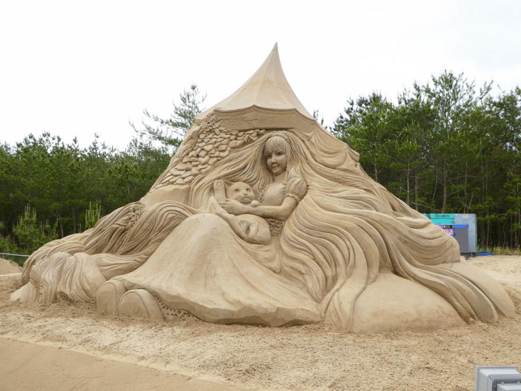 2017吹上浜砂の祭典